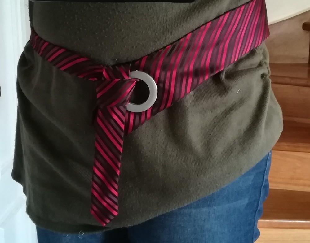 ceinture cravate
